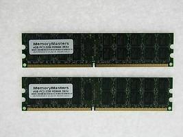 8GB (2X4GB) DDR2 MEMORY RAM PC2-3200 ECC REG DIMM