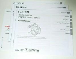 Genuine Fujifilm S8600 FinePix Instruction Manual Original - New - $14.45