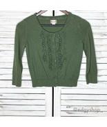 Mossimo Supply Co. | Ruffle Cardigan Sweater - $15.00