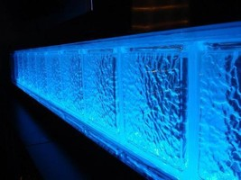 Glass Block LED light kit - with color fade and change - all colors - al... - $49.49+