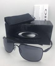 New OAKLEY Sunglasses GAUGE 8 L OO4124-0162 62-17 136 Matte Black Aviator w/Grey - $299.95