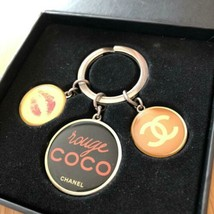 CHANEL Novelty Key Ring Holder Chain Coco Charm - $71.27