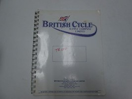 1969 British Cycle Supply Company Triumph Trophy 250 Parties Catalogue M... - $39.77