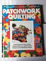 Patchwork & Quilting Better Homes and Gardens Book 1977 - $1.97
