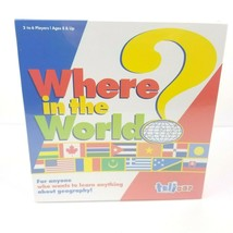 Where In The World? Geography Learning Board Game Talicor Aristoplay Hom... - $13.57