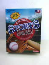 Sports Geek Baseball Trivia Edition 2018 Made In The USA - New Sealed - $16.58