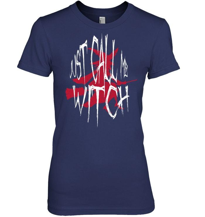 Funny Halloween Witch Tshirt For Women