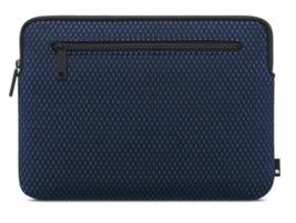 "Incase Compact Sleeve For MacBook12"" Black Navy Blue Nylon Mesh NEW"