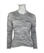 Lululemon Top Women's Small Long Sleeve Gray and White Shirt - $49.99