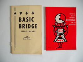 2 BRIDGE CARD GAME PBs~How to Start Playing Bridge in 22 Minutes & Basic... - $4.94