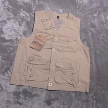 SCHOTT NYC Khaki Mens Survival VEST Size Small/Medium NWT NEW - $88.31