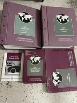1997 lincoln mark viii 8 v III service repair workshop manual set w evtm + - $158.60