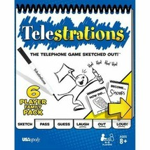 USAopoly Telestrations Party Game - Brand NEW - $18.69