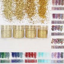 Mixed Glitter Powder Sequins Nail Art Ornaments Decorative Dust 4 Color/Set - $4.70