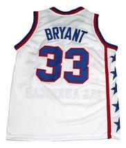 Kobe Bryant #33 McDonald's All American New Men Basketball Jersey White Any Size image 5