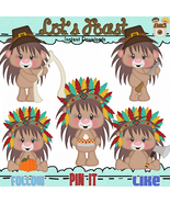 Lets Feast Hedgies Clip Art - $1.35