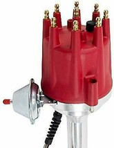 Pro Series R2R Distributor for Mopar Dodge Chrysler BB, V8 Engine Red Cap image 2