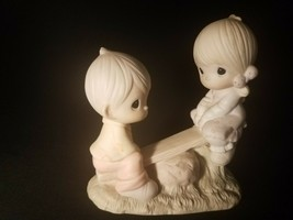 "Precious Moments ""Love Lifted Me"" E-1375/AFigurine - $11.27"