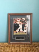 """Cal Ripken jr Baltimore Orioles Glass wood Framed  photo 18"""" x 14"""" - $55.00"""