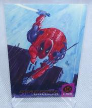 1994 Marvel Fleer Ultra X-Men DEADPOOL Super Villains Trading Card #57 NICE - $9.89