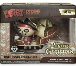 Disney Jolly Roger with Pirate Ship Dorbz Ridez Vinyl Figure Set by Funko - NEW - $8.59