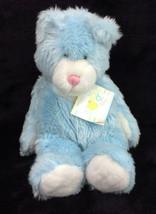"""Baby Ganz Blue Teddy Bear Plush Baby Soft Toy 1999 Stuffed Animal 14"""" NEW - $41.51"""