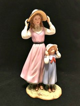 Home Interiors Figurine 88412-98 Summer Days 1998 Porcelain 8 inches Tall - $29.69