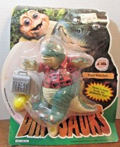 Dinosaurs Earl Sinclair Action Figure Dad Daddy Poseable Vintage Disney ... - $18.70