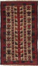 "Baluch rug 2'9""x4'5"" (83x135 cm) Oriental Carpet - $268.00"