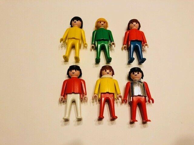 Vintage 1974 Playmobil Figures - Lot of 6 - $10.00