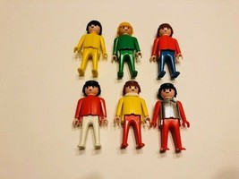Vintage 1974 Playmobil Figures - Lot of 6 - $10.00