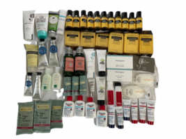Lot Travel Sample L'Occitane Aquaphor Eucerin Lotion Soap Shampoo Pharmacopia image 1