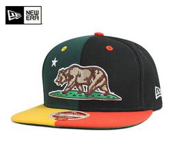 New era Snapback caps Bay area split Black Hat 9FIFTY SNAPBACK CAP NEWERA  - $28.04