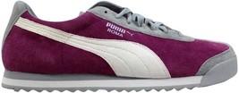Puma Roma Pigskin EXT Festival Fuchsia/Vapor Blue-White 341959 15 Women'... - $56.70