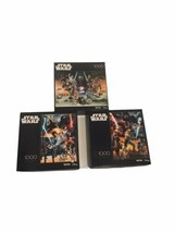 Disney Star Wars 1000 Piece Puzzles by Buffalo Games Lot Of 3 - $74.99