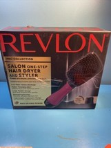 Revlon RVDR5212PNK One-Step Hair Dryer and Styling Brush - Pink - $36.63