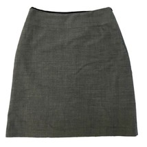 Banana Republic Womens Gray Wool Pencil Straight Work Mini Skirt 12 L - $12.87