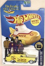 "Hot Wheels  Nomad Custom The BEATLES ""YELLOW SUBMARINE"" Real Rider Limited - $91.92"