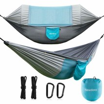 Newdora Hammock With Mosquito Net 2 Person Camping, Ultralight Portable ... - $55.63