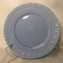 """Martha Stewart Plate Basketweave Blue Salad Dessert Luncheon MSE 8.25"""" - $7.91"""
