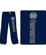 FIREFIGHTER REFLECTIVE SWEATPANTS - FIRE DEPARTMENT REFLECTIVE SWEATPANTS - $23.71+