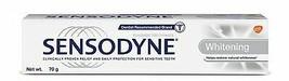 Sensodyne Whitening Sensitive Toothpaste to restore natural whiteness, 70gm - $7.44+