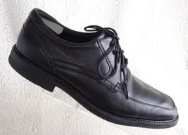 Rockport Trutech Black Leather Lace Up Oxford Shoes Men's US 11 EUR 45 A13013  - $26.77