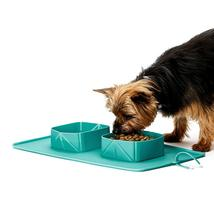 Collapsible Expandable Dog Bowl for Pet Cat Food Water Feeding - $15.99