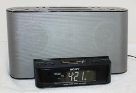 Sony Dream Machine lCF-CS10iP iPod Docking Radio Alarm Clock ~ Working No Remote - $14.99