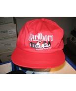 MARLBORO , Racing Team ,1992, Hat / Cap , Red , Adjustable  ,Vintage   - $20.00