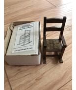Concord Miniatures Rocking Chair Shaker Pocker Dollhouse Furniture W BOX - $14.84