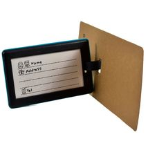 """Blue """"not YOUR BAG!"""" Rubber Baggage Luggage Traveling Tag image 3"""