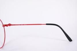 Authentic Lee Cooper Dallas Red Black Round Eyeglasses France Eyewear Unisex image 4