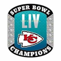 SUPER BOWL 54 KANSAS CITY CHIEFS PIN DIAMOND RING CHAMPIONSHIP NFL FOOTB... - $12.49